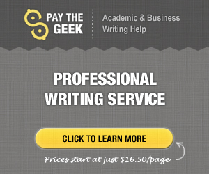 PaytheGeek - Writing service